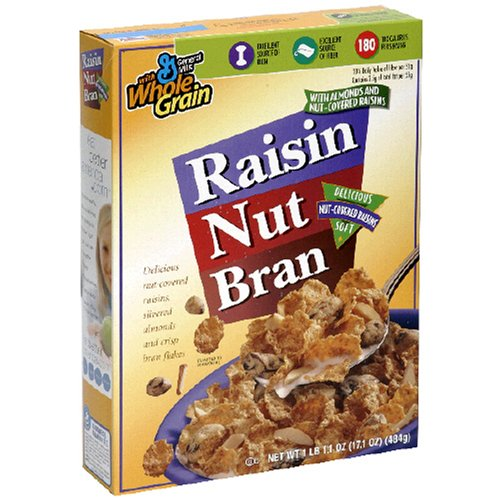 Raisin Nut Bran Cereal, 17.1-Ounce Box (Pack of 6)
