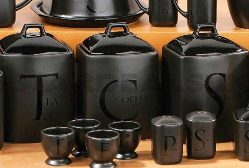 Gt Find Your Way With A Black Ceramic Tea Coffee Sugar