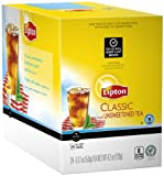 Lipton K-Cup Packs, Classic Unsweetened ICED Tea, 24 Count