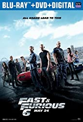 Fast & Furious 6 (Limited Edition Packaging) (Blu-ray + DVD + Digital Copy + UltraViolet)