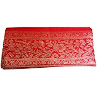 Indha Craft Women's/Girl's Clutch (Red,ICCLB512RC)