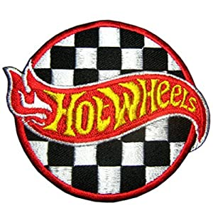 Auto Racing Clothing  Kids on Hot Wheels Champion Hot Rod Toy Auto Racing Car Patch  Home   Kitchen
