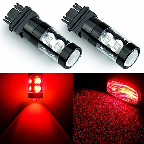 JDM ASTAR Extremely Bright Max 50W High Power 3056 3156 3057 3157 LED Bulbs ,Brilliant Red (1994 Honda Prelude Jdm compare prices)