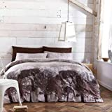 Catherine Lansfield Woodland King Quiltset