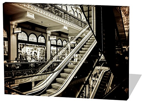 shopping-mall-gemalde-effekt-schones-und-hochwertiges-leinwandbild-zum-aufhangen-in-xxl-120cm-x-80cm