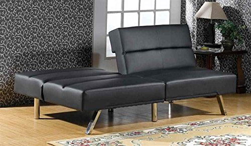 Adjustable Sofa Bed in Black