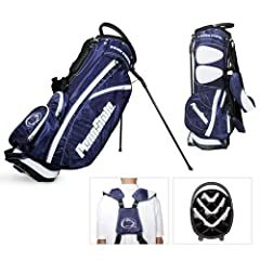 Penn State Nittany Lions NCAA Stand Bag - 14 way by Team Golf