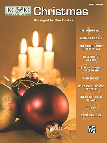 10 for 10 Sheet Music Christmas: Easy Piano Solos