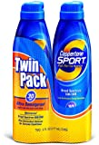 Coppertone Continuous Spf#30 Spray Twin-Pack Sport 6oz