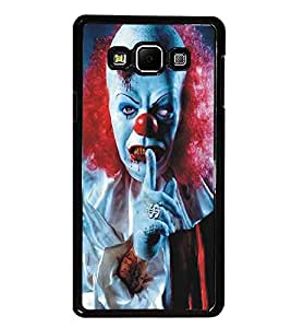 PrintDhaba Scary Face D-5379 Back Case Cover for SAMSUNG GALAXY A8 (Multi-Coloured)