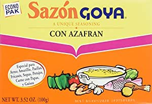 Goya Sazon Goya Azafran Econopak, 3.52-Ounce Units (Pack of 6)
