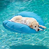 "Dog Pool Float and Lounger - Kentucky Blue, Large: 47"" dia. - Frontgate Dog Bed"