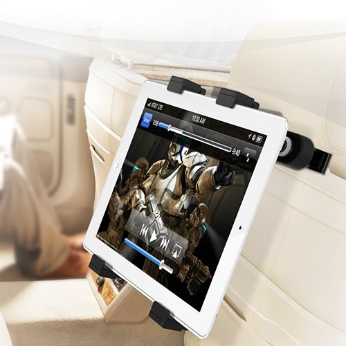 Check Out This IBRA®-Headrest Mount Holder for iPad Mini