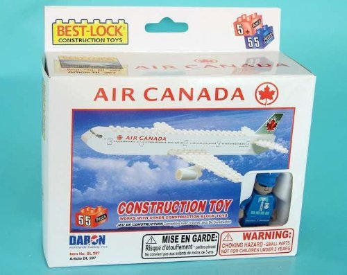 Daron Air Canada Construction Toy (55-Piece)