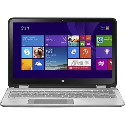 HP ENVY x360 15-u011dx 2-in-1 15.6-Inch Touch-Screen Convertible Laptop- Intel Core i7-4510U, 8GB RAM, 1TB HDD, Webcam, HDMI, Bluetooth, Windows 8.1