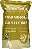 Terrasoul Superfoods Raw Organic Cashews (Whole), 2-pounds