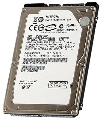 Fujitsu MHY2200BH MHY2200BH - 200GB - 5400rpm - SATA 2.5 HD