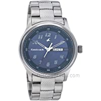 Fastrack Basics Analog Blue Dial Watch For Men- 3001SM02