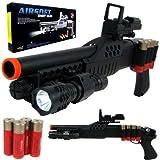 UKARMS 1:1 Pump Action Pistol Grip Spring Powered Airsoft Shotgun BB Gun (Color: Black, Tamaño: 20 Inches)