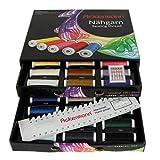36 Farben x 200m ACKERMANN UNIVERSAL 120 NÄHGARN  in handlicher Box. ACKERMANN UNIVERSAL 120 Nähgarn-Box. Nähgarnsortiment