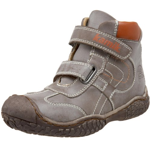 Kamik Kids' Discovery Hiking Boot,Coffee,10 M US Toddler