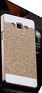 Light weight and Slim shine back case Samsung Galaxy A7 Gold