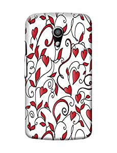 Motorola Moto G2 Cover, Premium Quality Designer Printed 3D Lightweight Slim Matte Finish Hard Case Back Cover for Motorola Moto G (2nd Generation) + Free Mobile Viewing Stand