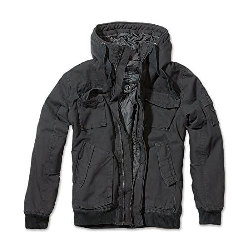 Brandit Men's Vintage Bronx Jacket Military Style Short Army Parka