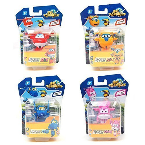 4-Pcs-SuperWings-MINI-Transforming-planes-series-Hogi-Jett-Ari-Dizzy-Donnie-Jerome