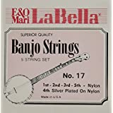 LaBella 17 La Bella Nylon 5 Stg Banjo Set