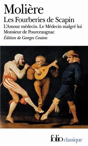 Fourberies de SCA Amour (Folio (Domaine Public)) (French Edition)