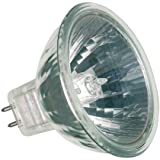 Sylvania Halogen 12v Dichroic Reflector MR16 50mm Diameter 50w (10 Deg) 4,000 Hour (Coolbeam) 5 Pack