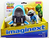 Fisher Price - Imaginext - Toy Story Exclusive - Rex with Spaceship - 55728