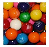 Dubble Bubble Assorted 24mm Gumballs 1 Inch, 2 Pounds Approximately 110 Gum Balls. Includes a Free 1 Pound Bag of Amish Country Popcorn