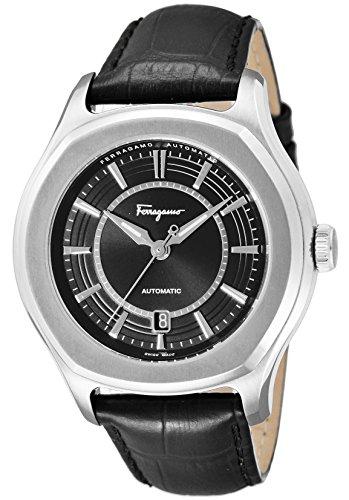 [サルヴァトーレ・フェラガモ]Salvatore Ferragamo 腕時計 LUNGARNO ブラック文字盤 自動巻 FQ1010013 メンズ 【並行輸入品】