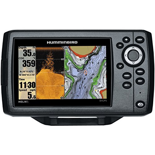 best Humminbird 409620-1 Helix 5 DI fish finder