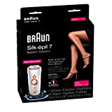 Braun SE 7181 WD Silk Epil 7 Epilator Xpressive Pro, Orange/Copper