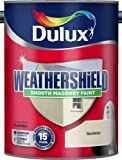 Dulux Weathershield Smooth Masonry Paint Gardenia 5L