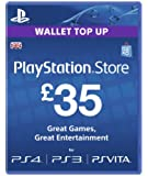 Playstation Network Card - £35 (PlayStation Vita/PS3) [Importación inglesa]