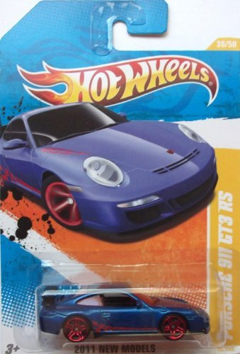 2011 Hot Wheels 2011 New Models Porsche 911 GT3 RS #36/244