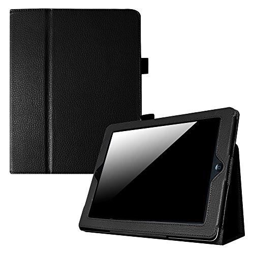 Fintie Folio Classic Leather Case Cover for iPad 4th Generation, New iPad 3 & iPad 2