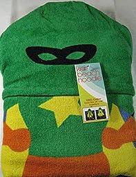 Kids Beach Hoodie Towels- Super Hero 100% Cotton 24\