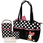 Disney 5 in 1 Diaper Tote Bag Set, Mi...