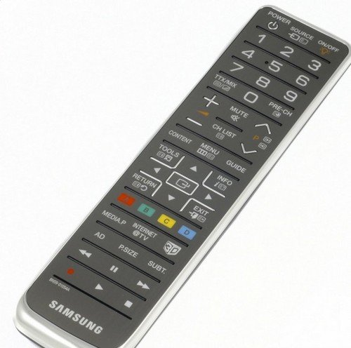 Samsung 3D TV Universal Remote Control (For use