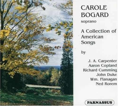 Carole Bogard: A Collection of American Songs