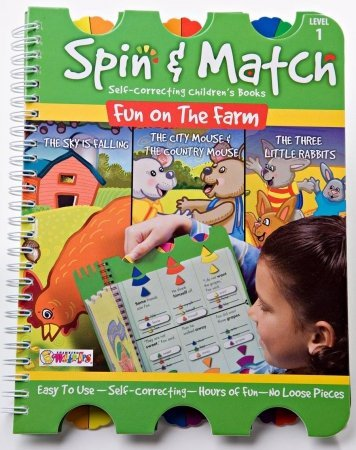 LWUPS SM-101 Spin & Match - Fun on the Farm - 1