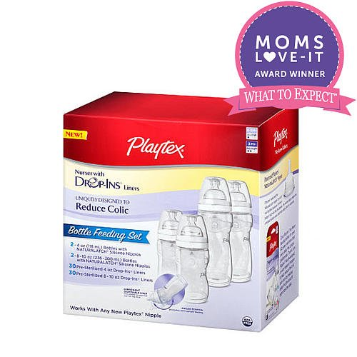 Playtex Premium Nurser Newborn Gift Set With Dropins (Colors/Styles Vary) front-903834