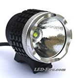 High Power LED Fahrradlampe / Outdoorlampe LED-Fire.com 1000 mit Li-Ion-Akku und Ladeger�t von LED-Fire.com