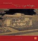 Drawings of Frank Lloyd Wright 2012 Calendar (0764957929) by Frank Lloyd Wright