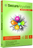 Webroot SecureAnywhere AntiVirus 2012, 3 User, 1 Year Subscription (PC)